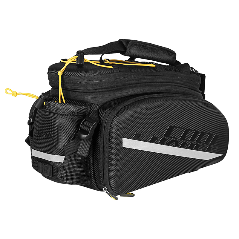 Image 3 - CoolChange Bicycle Rack Bag Reflective Bicycle Rear Seat Luggage 