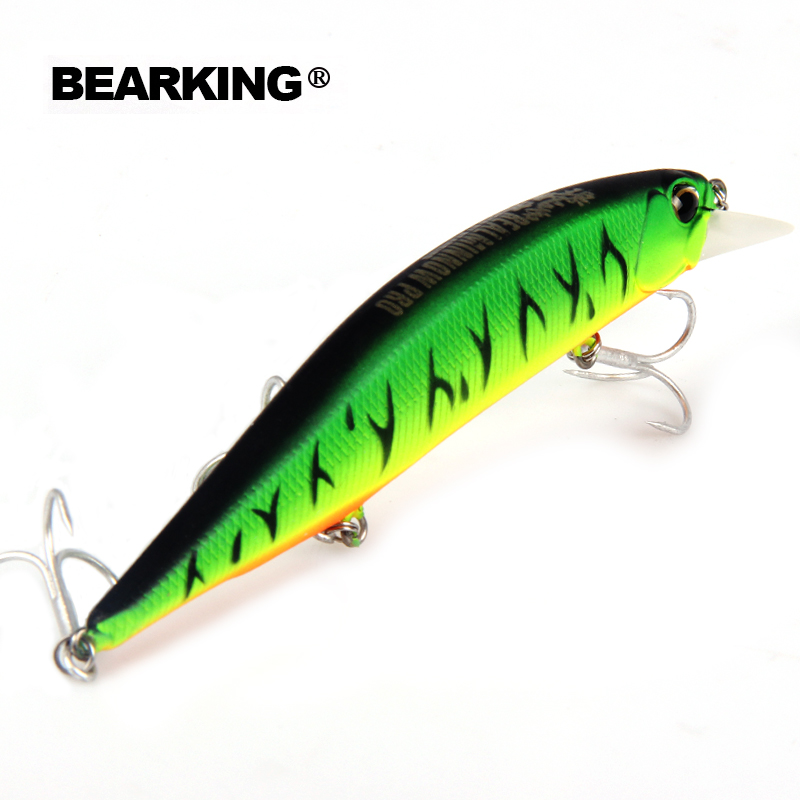 Retail Bearking hot model fishing lures hard bait different colors for choose 120mm 18g  minnow,quality professional minnow the magnet conquero fishing lures assorted colors quality minnow 110mm 14g tungsten ball bearking 2017 model crank bait