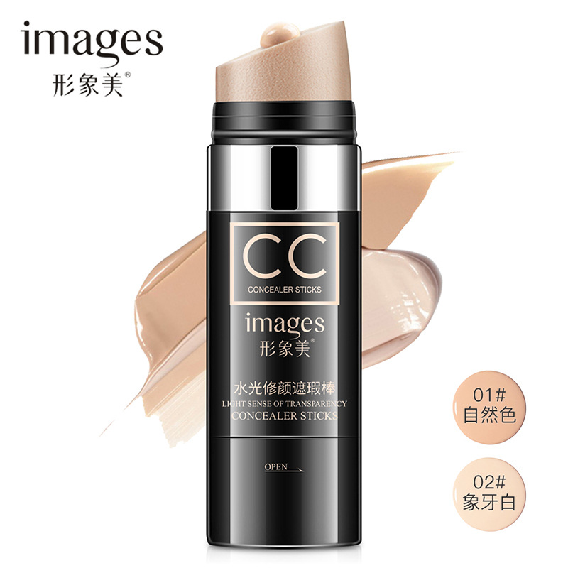 images Brand CC Concealer Sticks Water Light Face Concealer WaterProof Air Cushion CC Cream Nature Facial Makeup Foundation image