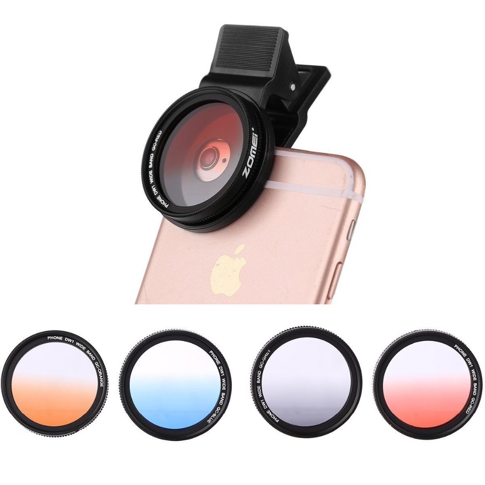 37mm professionelle telefon camera lens filter set für iphone samsung windows &...