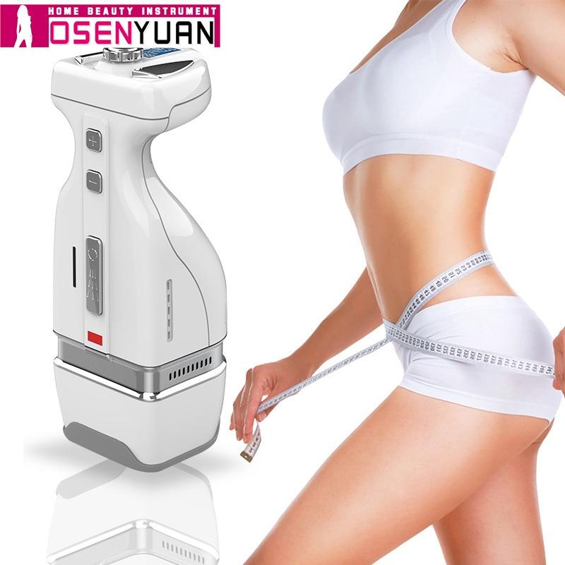 Newest 2019 HelloBody Handy MINI HIFU slimming device Focused RF Fat removal home use slimming machine