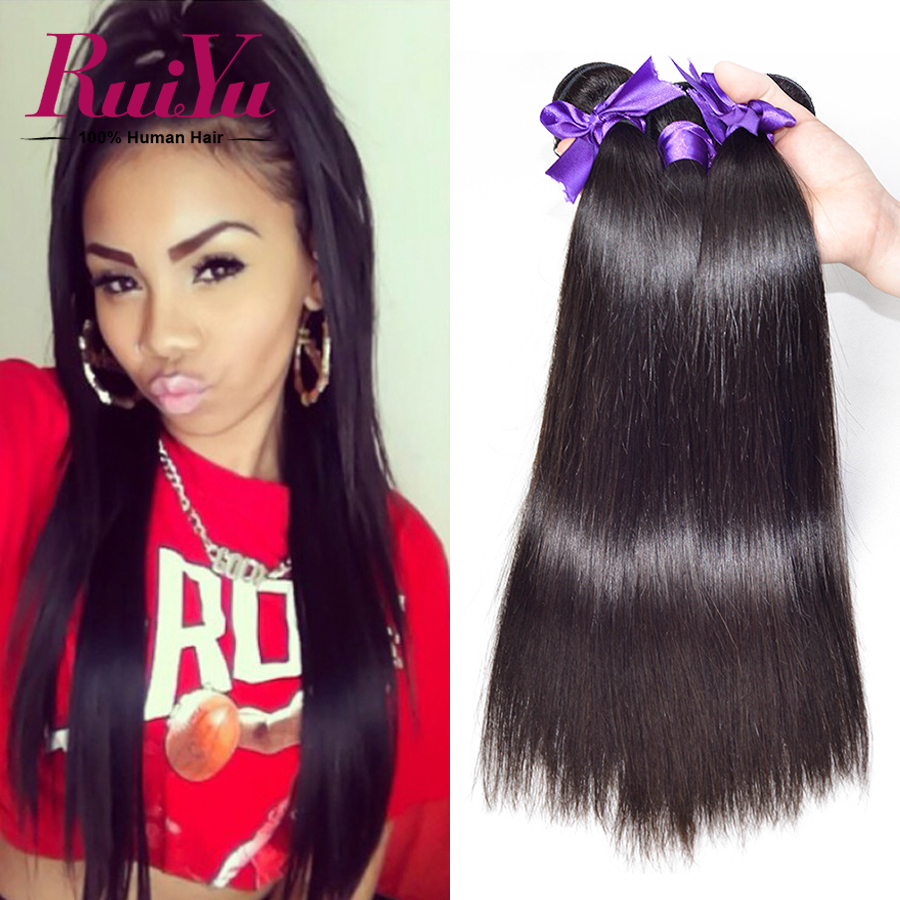 Mink Brazilian Virgin Hair Straight Human Hair 3 Bundles Brazilian Straight Virgin Hair Straight Brazilian Hair Weave Bundles