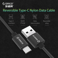 ORICO USB Type C Cable 2A USB C Cable Fast Charging Data Cable Type-C USB Charger Cable for Nexus 5X,6P,OnePlus 2,Xiaomi USB-C
