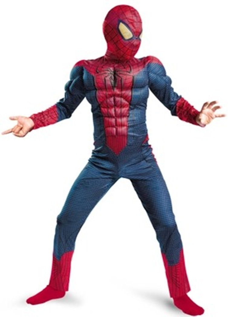 Free Shipping Hot Selling Halloween Spiderman Muscle Costumes for Kids Children boy Christmas super hero suits clothes clothing-in Boys Costumes from ...  sc 1 st  AliExpress.com & Free Shipping Hot Selling Halloween Spiderman Muscle Costumes for ...