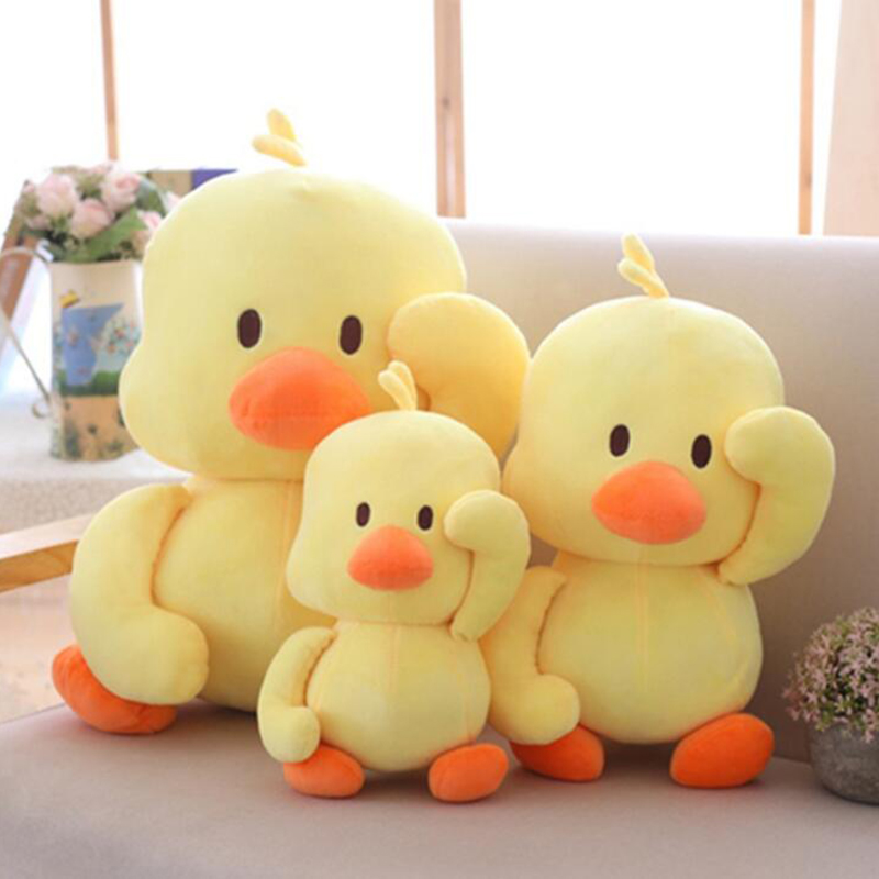 Little Yellow Duck Stuffed Animals Plush Toy Cute Yellow Duck plush toys Stuffed Doll Soft Animal Dolls For Birthday baby gift
