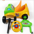 Lovely safety Music Lights Ride On Horse scooter 2015 push baby child yo car, baby walker dog walker doll toy car