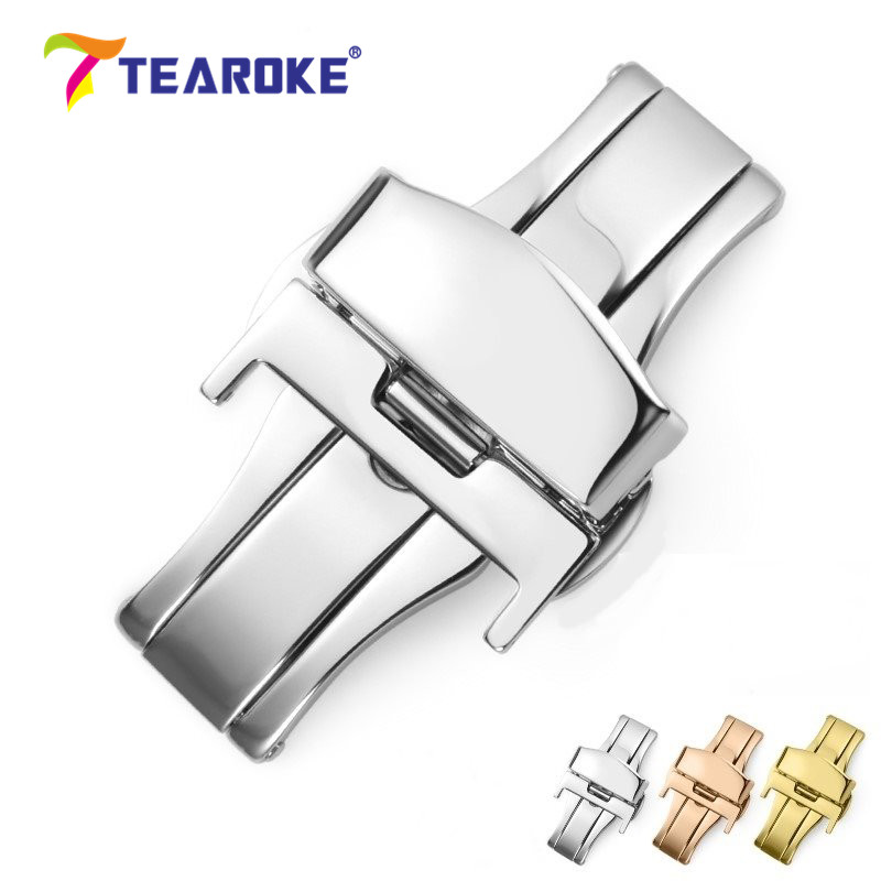 tearoke-butterfly-deployment-watch-band-double-push-button-fold-strap-buckle-clasp-16-18-20-22-24mm-gold-rose-gold-silver