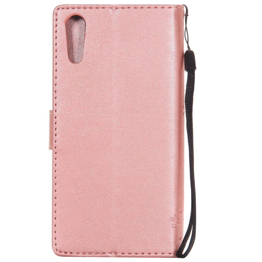Wallet Magnet Flip Cover Leather Cases For Sony Xperia XZ F8331 Dual F8332 case For SONY Xperia XZ Coque phone shell 3D Pattern