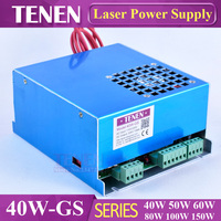 40W GS MYJG 40W CO2 Laser Power Supply 40W 25W 30W For CO2 Laser Tube 110V 220V High Voltage Engraving Cutting Machine