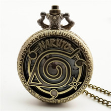 Naruto Necklace Present Fob Watches
