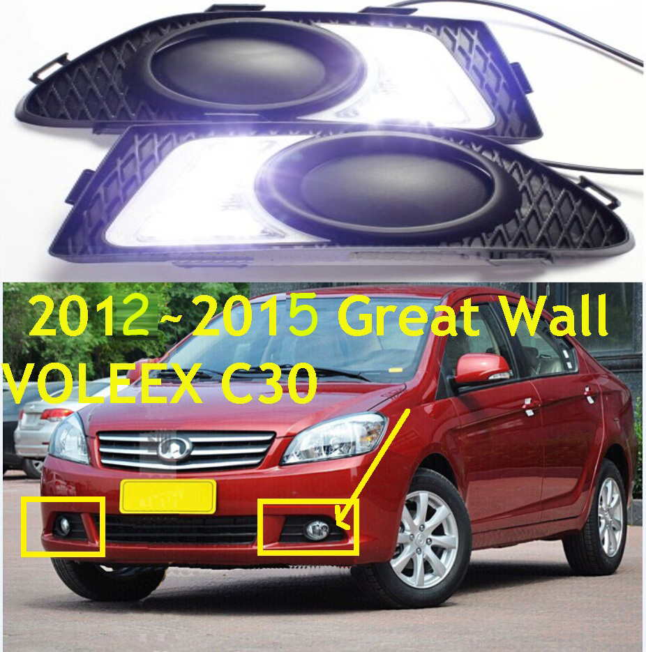 LED,2012~2015,Greatwall Voleex C30 daytime Light,C30 fog light,C30 headlight;H3 H5 H6 H2;C30 taillight zoom xyh 5 съемный микрофон для h5 h6