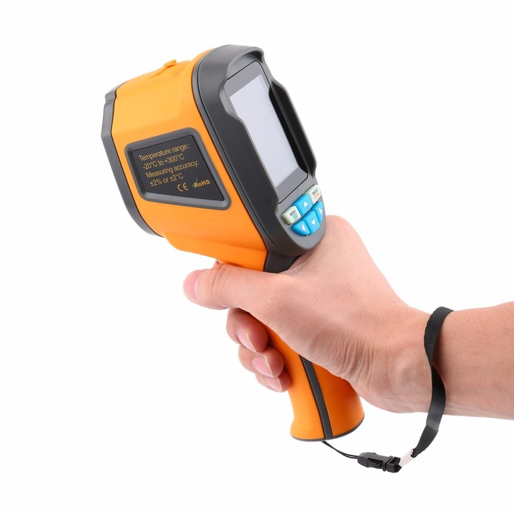 Handheld Infrared Thermometer Imaging Camera Precision Protable Thermal Imager 2.4 Inch High Resolution Color Screen Camera reiner salzer infrared and raman spectroscopic imaging