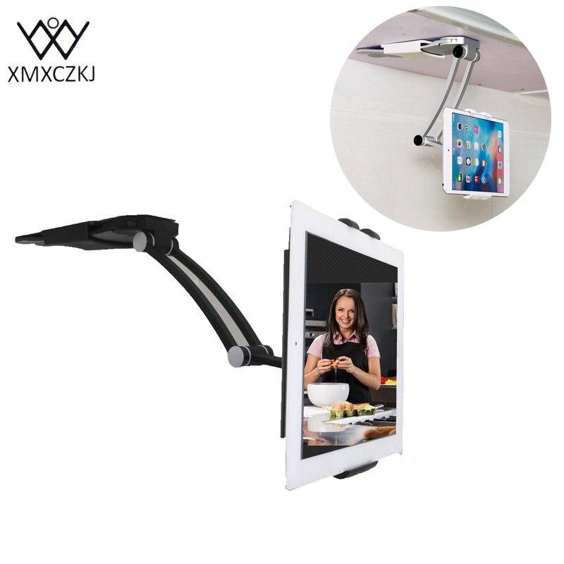 bilder für MXCZKJ Tablet Ständer Küche Wand Universel Montiert Tablet Wand Handyhalter Handyhalter 13,4 Bis 19 Cm Breite Für Iphone 7 Plus