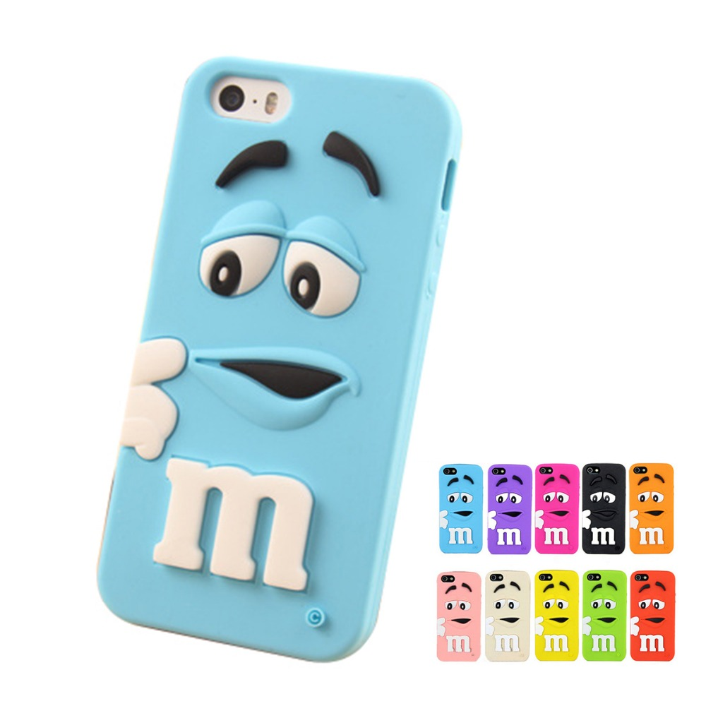3D Cute Cartoon Chocolate Soft Silicone Cell Phone Cases Samsung Galaxy A8 A7 A5 E7 E5 J7 J5 J3 J2 J1 Rubber Gel Back Cover  -  ww-supply store