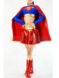 Supergirl costume spandex metallic female halloween cosplay font b superhero b font costumes for women the.jpg 250x250