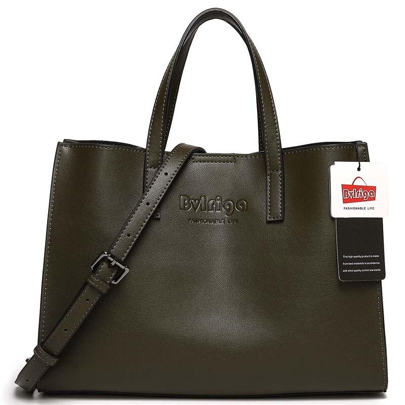 BVLRIGA 2017 Genuine leather bag Women leather handbags famous brands women messenger bags luxury handbags women bags designer