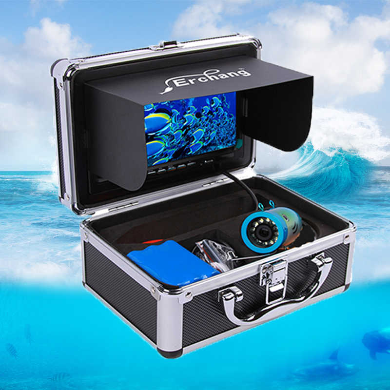 Erchang DV3524 Video Recording Fish Finder Camera Underwater Waterproof Fishing Fishfinder 1000TVL Infrared Ice fishing Camera