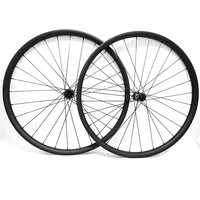 29er carbon mtb wheels 30x24mm tubeless boost DT350S Straight pull 110x15 148x12 mtb disc bike wheels bicycle carbon wheelset