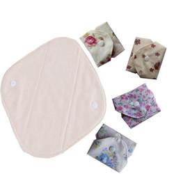 1 шт. органический хлопок ручная стирка хлопчатобумажной ткани гигиеническая салфетка здоровый и дышащий предотвратить аллергия 185 мм