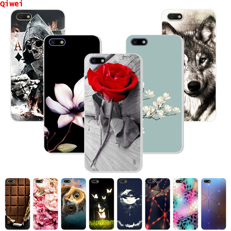 Coque <font><b>Honor</b></font> <font><b>7A</b></font> 5.45 Case For Huawei <font><b>Honor</b></font> <font><b>7A</b></font> Case Cover Soft Silicone Rubber TPU Capas For Huawei <font><b>Honor</b></font> <font><b>7A</b></font> <font><b>DUA</b></font>-<font><b>L22</b></font> Case 7 A A7 image