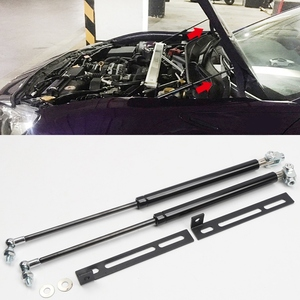 Car Front Hood Engine Cover Supporting Hydraulic rod Lift Strut Spring Shock Bars for Subaru Brz for Toyota 86 Gt86 2012- 2017