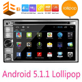 5.1.1 doble 2 din Android de DVD Del Coche de Navegación GPS En El tablero Stereo 2 Din radio de Coche GPS Navigator WIFI Jugador Multimidia Autoradio