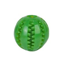 Creative Pet Toy Tpr Ball Dog Cat Leaking Food Non-toxic And Tasteless Round Supplies