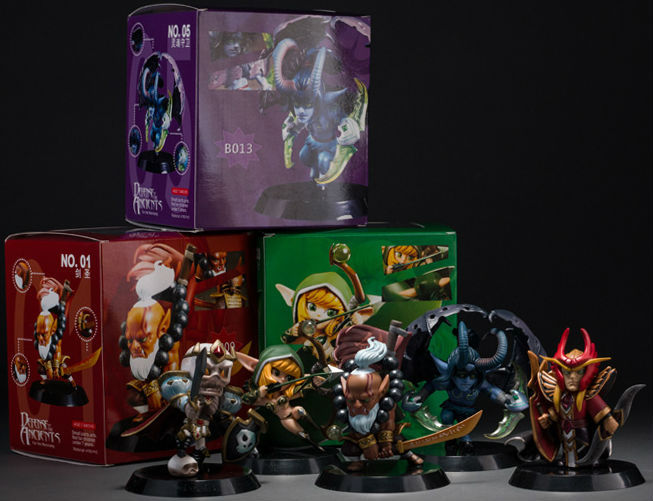 online shop dota 2 pvc action figures toy defense of the ancients
