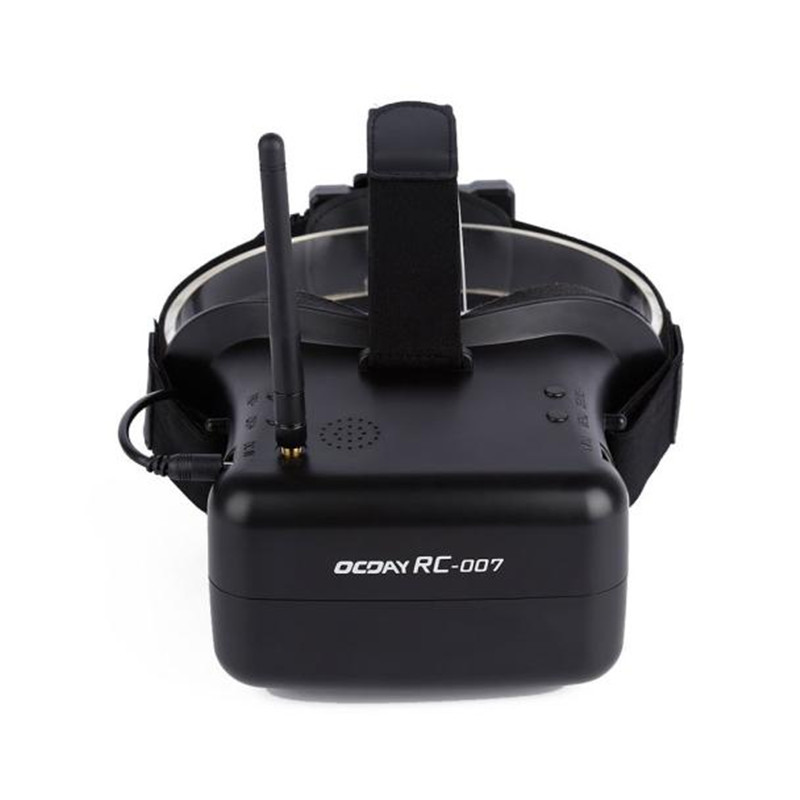 AKASO New Arrival 4 3 Inches 480X270 FPV Video Goggles 5 8G 40CH Raceband Auto Searching
