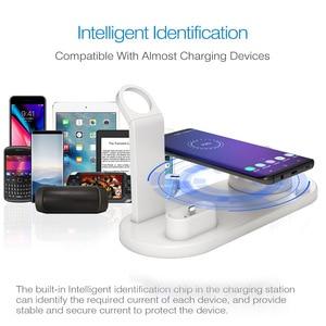 Image 3 - Зарядная док станция 3 в 1 для Apple Watch iPhone 11 Pro XS XR 7 8 Plus Airpods Pro
