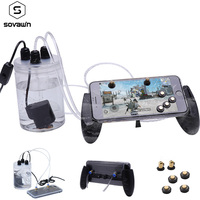Pubg Gamepad Mobile Phone Cooling Fan Case Water Cooler Gaming Controller Trigger Joystick Smartphone Radiator for iPhone 8P XR