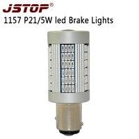JSTOP Super Bright Led Car Canbus 1157 12V Brake Lamps High Quality 1000LM Light BAY15d Auto