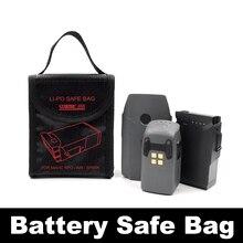 Mavic Air Pro Faísca Platina Saco de bateria para DJI Zangão Lipo Bateria De Armazenamento Saco de Protecção Estojo Protetor Acessórios