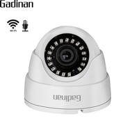 GADINAN 720P 960P 1080P IP WIFI Camera Microphone Audio Night Vision 3 6mm Lens 2MP Dome