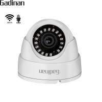 GADINAN 720P 960P 1080P IP WIFI Camera Microphone Audio Night Vision Hi3518EV200 Dome Security CCTV Wireless Camera P2P CamHi
