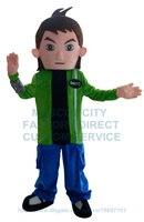 Мальчик талисмана Герой мультфильма Cosply пользовательские аниме карнавальный костюм нарядное платье 3456