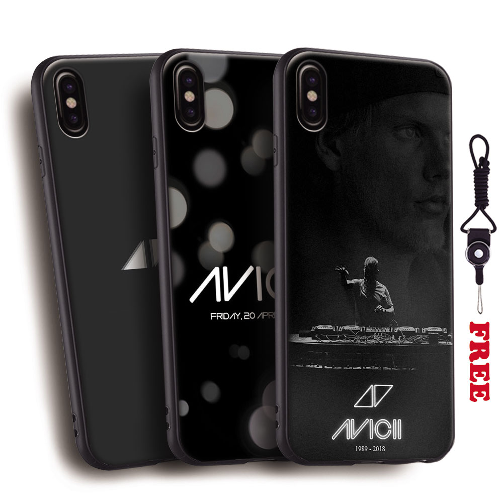DJ Avicii Tim Bergling RIP Coque Tpu Soft Silicone Phone Case Cover Shell For Apple iPhone 5 5S Se 6 6S 7 8 Plus X 10