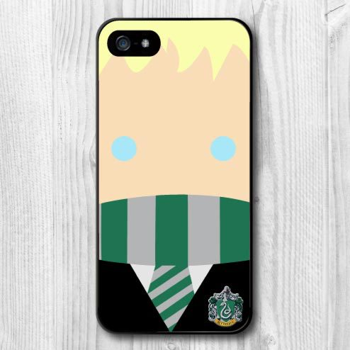 pretty nice 0f36b 52b0b US $10.99  Harry Potter Draco Malfoy Lovely Character Protective Phone Case  For iPhone 5 5S First Glass Airmail Free Ship To Global on Aliexpress.com  ...