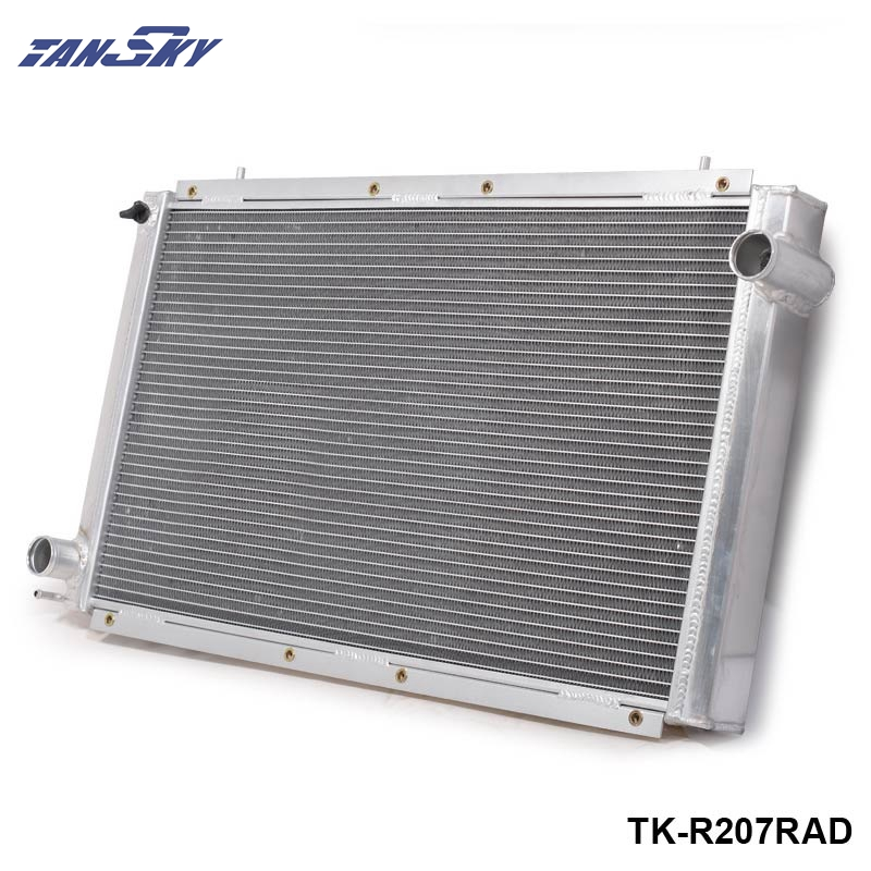 42mm 2 Row Aluminum Radiator MT New For Subaru Impreza WRX STi STI GC8 TK-R207RAD