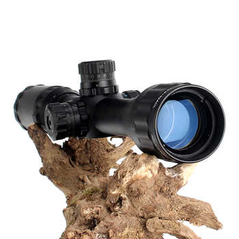 LT 3-9X32 AOL 1 inch Full Size Tactical Optical Sight Illuminate Mil-Dot RifleScope Locking Resetting Hunting Rifle Scope
