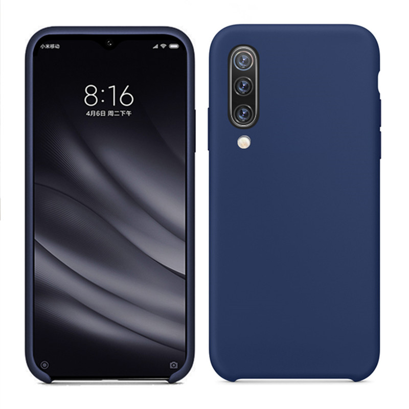Original Silicone phone Cases For <font><b>Xiaomi</b></font> mi9 mi8 se mi6 Mix 2s Max 3 for <font><b>Xiaomi</b></font> Note 7 <font><b>Pro</b></font> Luxury Official Soft Tpu Phone Cover image