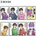 10 pçs/lote Linda Osomatsu san Cartão Adesivos Brinquedos Clássicos Japoneses Anime Brinquedos Dos Desenhos Animados Adesivos Crianças Jogos Do Presente da Festa de Aniversário