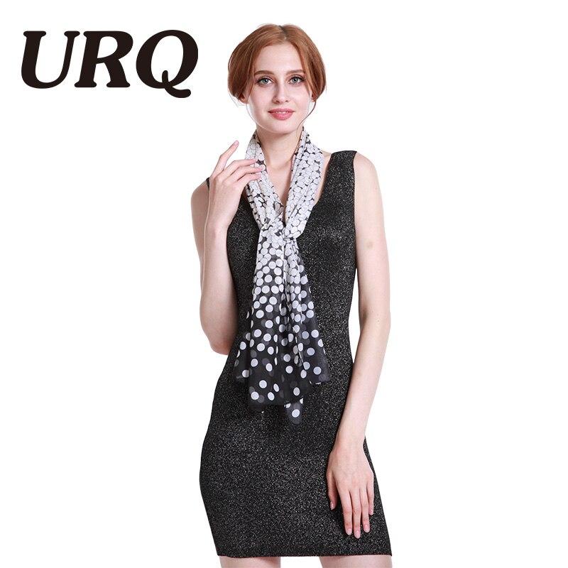 50 * 160 Chiffon Schal für Frauen Mode Frauen Lady Polka Chiffon - Bekleidungszubehör - Foto 3
