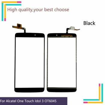 10Pcs/lot For Alcatel One Touch Idol 3 6045 OT6045 6045Y Touch Screen Touch Panel Sensor Digitizer Front Outer Glass Touchscreen