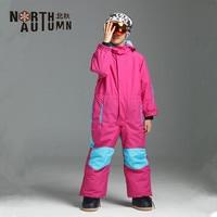 Winter Girl's Suits Ski Suit For Boys Waterproof Snow Romper Kids Overall Windproof Skiing Jumpsuit Snowboard Set Sport Suit Kid