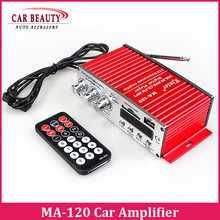 SD USB MP3 Digital Player DC12V Mini Car Motorcycle Audio Amplifier Stereo Kinter MA-120