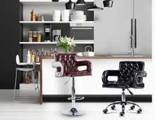 Барный стул современный простой высокий с высокой спинкой барный