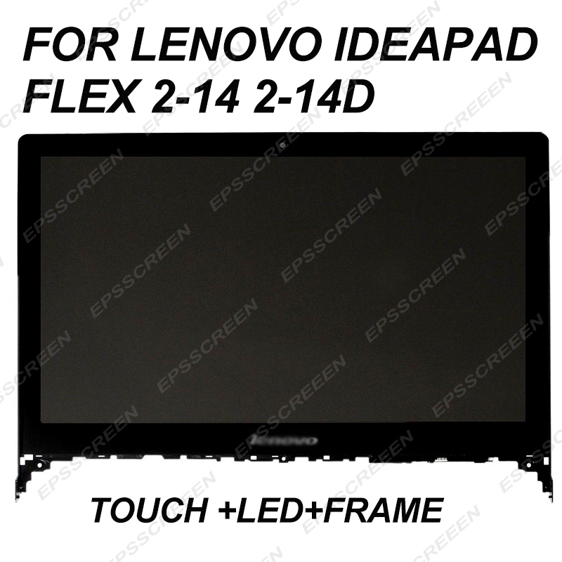 replace 14 for Lenovo IdeaPad Flex 2-14 2-14D assembly touch screen+LED LCD panel+frame display bezel FHD1920*1080&HD 1366*768replace 14 for Lenovo IdeaPad Flex 2-14 2-14D assembly touch screen+LED LCD panel+frame display bezel FHD1920*1080&HD 1366*768