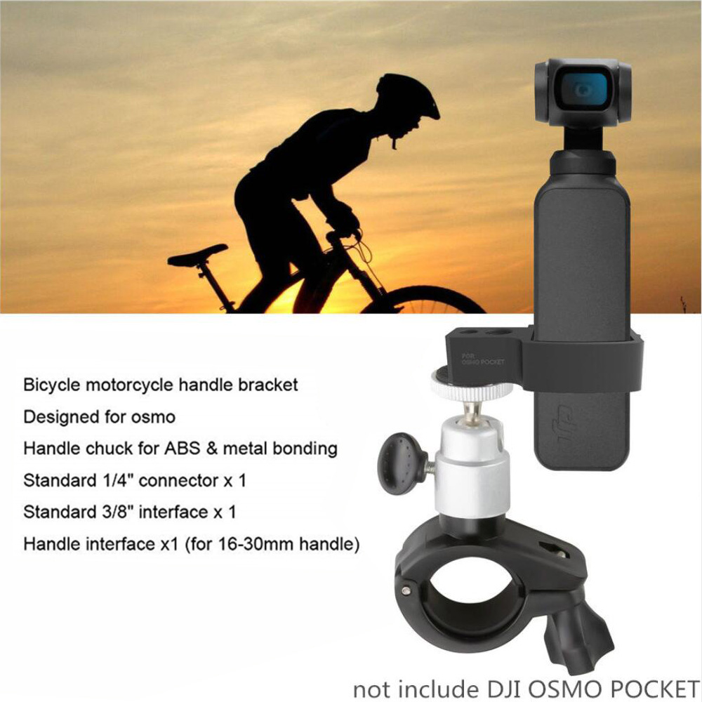 DJI OSMO Pocket Handheld Gimbal Expansion Accessories OSMO Pocket Mount Bracket for Car bicycle Motorcycle Mount Bracket Cyclin in Gimbal Accessories from Consumer Electronics