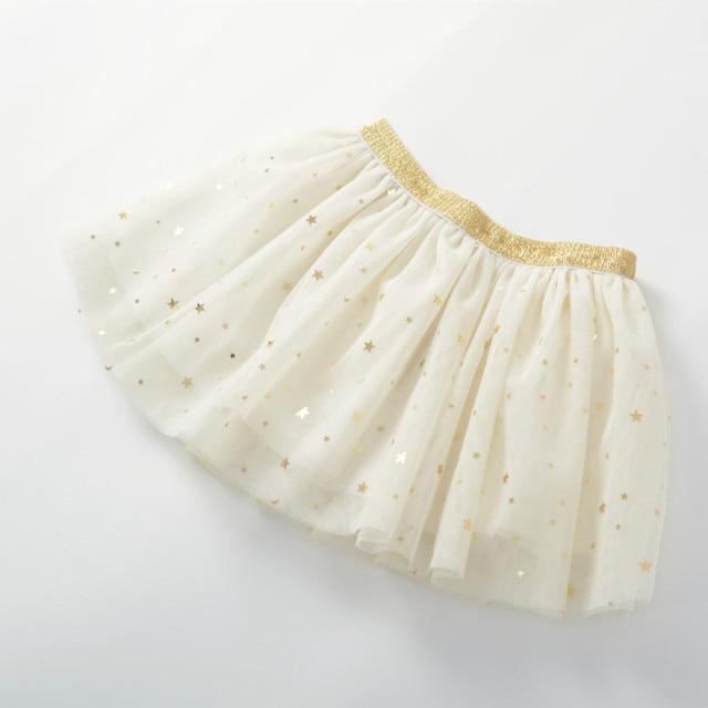Baby Girl's Skirt with Glitter Stars 5